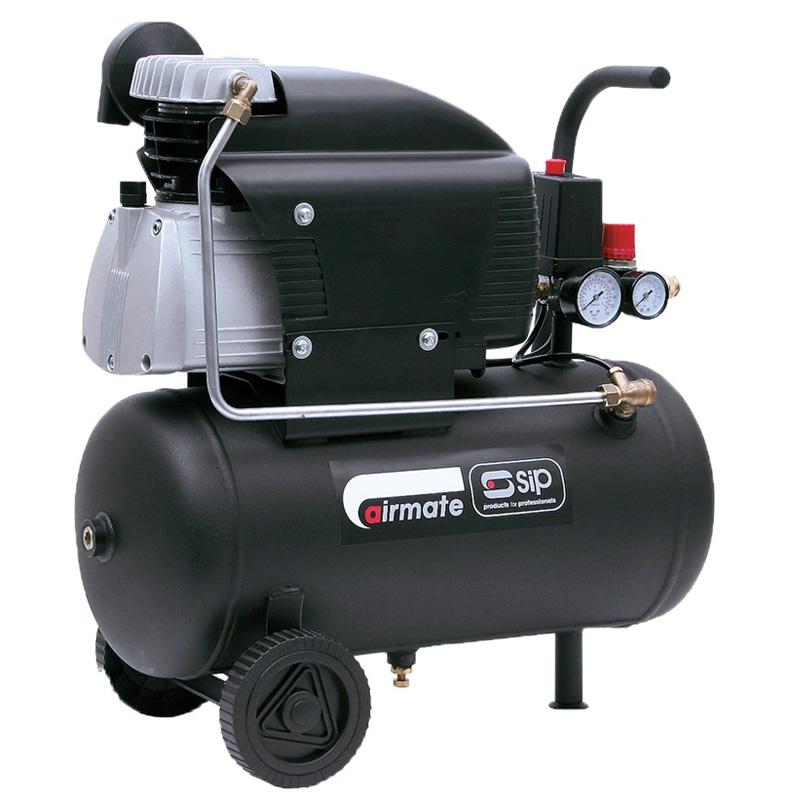 SIP 06238 Airmate TN2.5/25-D Air Compressor (Discontinued)