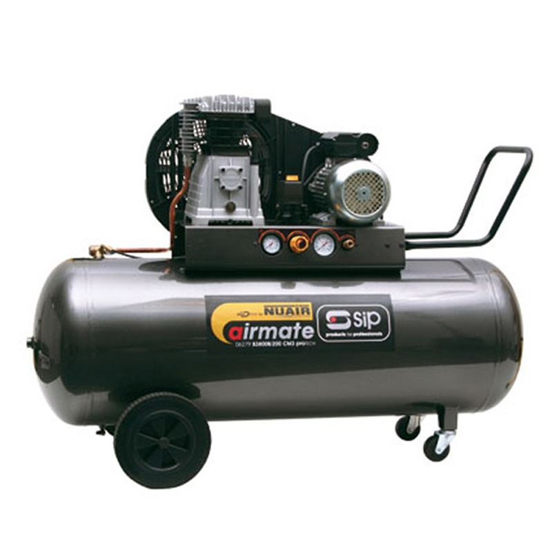 SIP 06288 Airmate PB3800B4/200 PRO-TECH Compressor