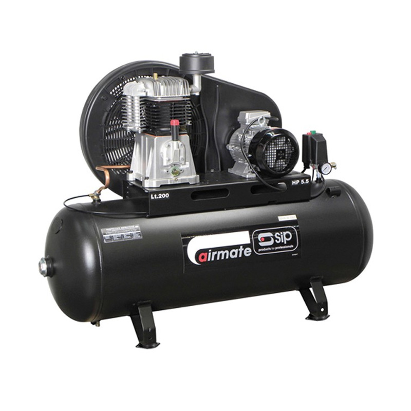 SIP 06583 Airmate TN5.5/200 Compressor (3 phase)