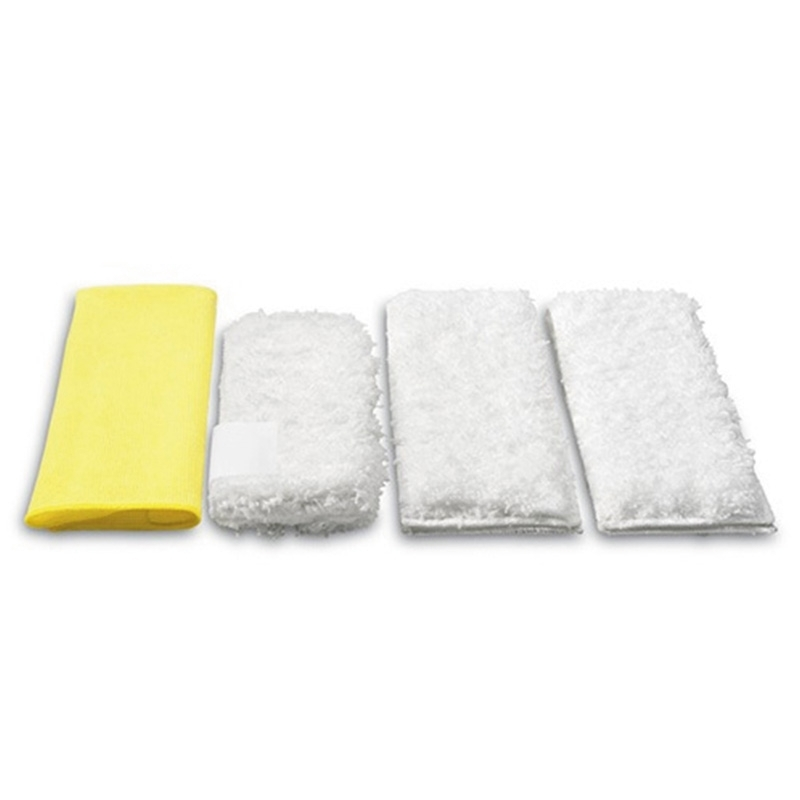 Karcher Microfibre Cloths Set Steam and Clean Kitchen (Pack of 4)