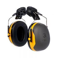 3M Peltor X2P3  Ear Defenders, Helmet Mounted (Black/Yellow)