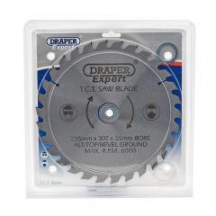 Draper 09484 Expert TCT Saw Blade 235 x 35mm x 30T