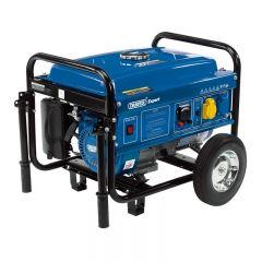 Draper 87088 Petrol Generator with Wheels (2.5KVA/2.5KW)