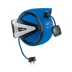 Draper 15051 230V Retractable Electric Cable Reel, 10m