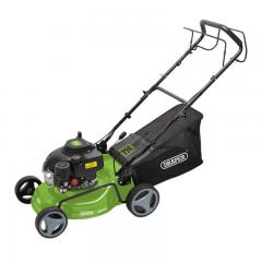 Draper 08671 420MM Steel Deck Petrol Lawn Mower (132CC/3.3HP)