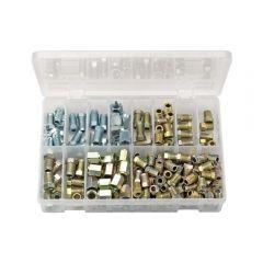 Draper 54367 Brake Pipe Fittings Kit (205 Piece)