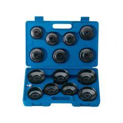 """Draper 40105 Oil Filter Cup Socket Set, 3/8"""" Sq. Dr. (15 piece)"""
