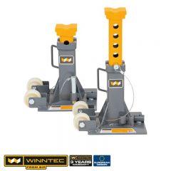 SIP 09846 Winntec 12 Ton Trolley Jack Stand