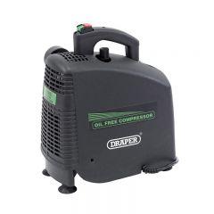 Draper 24973 230V 1.5hp (1.1kW) Oil-Free Air Compressor