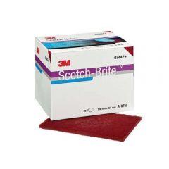 3M Scotch-Brite Hand Pad 7447, 158 mm x 224 mm, A VFN (Pack of 20)
