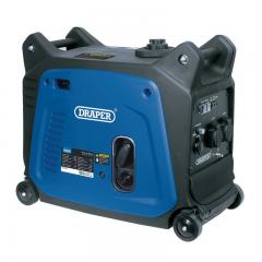 Draper 95198 Petrol Inverter Generator, 2800W