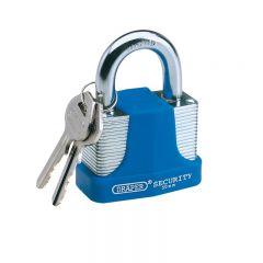 Draper 64180 40mm Laminated Steel Padlock and 2 Keys