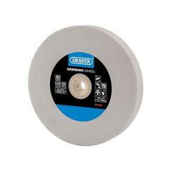 Draper 99569 Aluminium Oxide Bench Grinding Wheel, 150 X 20mm, 80g, White