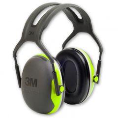 3M Peltor X4A Ear Defenders (Hi-Viz)