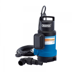 Draper 61621 166L/Min Submersible Dirty Water Pump With Float Switch