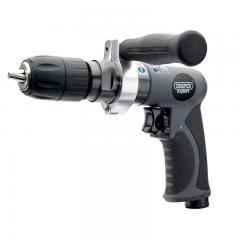 Draper 14266 Composite Reversible Keyless Air Drill, 13mm