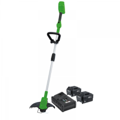 Draper 94580 D20 40V Grass Strimmer With Battery And Fast Charger