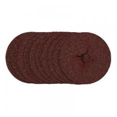 Draper 68628 Sanding Discs, 125mm, 24 Grit (Pack of 10)