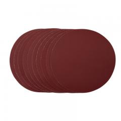 Draper 63797 Sanding Discs, 180mm, Hook & Look, 40 Grit (Pack of 5)