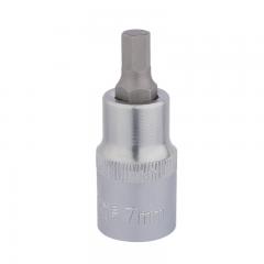 "Draper 16300 Hexagonal Socket Bits, 1/2"" Sq. Dr. 7mm"