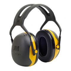 3M Peltor X2A Ear Defenders (Black/Yellow)