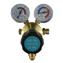 Parweld E700122 300 Bar Single Stage 2 Gauge Oxygen Regulator