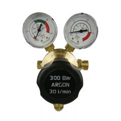 Parweld E700123 300 Bar Single Stage 2 Gauge Argon Regulator