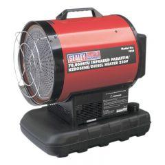 Sealey IR20 Infrared Paraffin/Kerosene/Diesel Heater