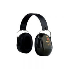 3M PELTOR Optime II Ear Defenders, 31 dB, Green, Foldable, H520F-409-GQ