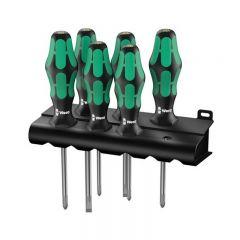 Wera 105656 6 Piece Kraftform Screwdriver Set