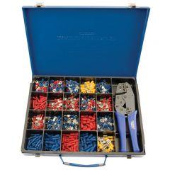 Draper 56383 Expert Ratchet Crimping Tool and Terminal Kit