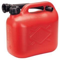 Draper 82692 Red 5L Plastic Fuel Can