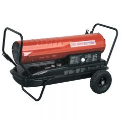 Sealey AB1758 Space Warmer® Paraffin/Kerosene/Diesel Heater 175,000Btu/hr with Wheels
