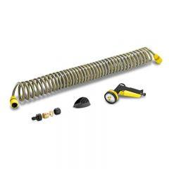 Karcher 10m Spiral Hose Set