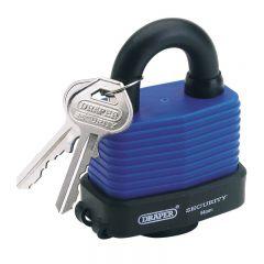 Draper 64178 54mm Laminated Steel Padlock and 2 Keys