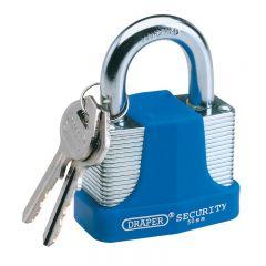 Draper 64179 30mm Laminated Steel Padlock and 2 Keys