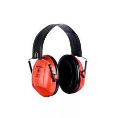 3M PELTOR Bull's Eye I Ear Defenders, 27 dB, Red, Foldable, H515FB-516-RD