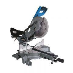 Draper 79899 255mm Double Bevel Sliding Compound Mitre Saw (2000W)