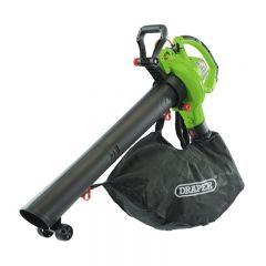 Draper 93165 Garden Vacuum/Blower/Mulcher (3200W) (Mains Powered)