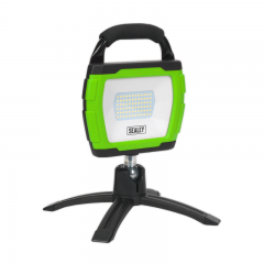 Sealey LED360FG Rechargeable 360° Floodlight 36W SMD LED Portable Green Lithium-ion