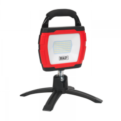 Sealey LED360FR Rechargeable 360° Floodlight 36W SMD LED Portable Red Lithium-ion