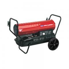 Sealey AB1008 Space WarmerParaffin/Kerosene/Diesel Heater 100,000Btu/hr with Wheels