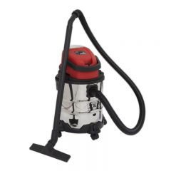 Sealey Vacuum Cleaner Cordless Wet & Dry 20L 20V - Body Only