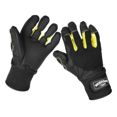Sealey 9142XL Anti-Vibration Gloves X-Large - Pair