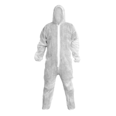 Sealey 9601L Disposable Coverall White - Large