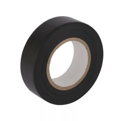 Draper 11909 20m X 19mm Black Insulation Tape to BS3924 and BS4J10 Specifications