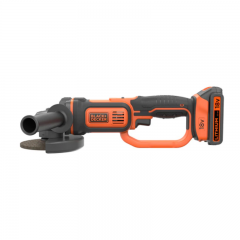 Black & Decker BCG720N 18V Lithium-Ion Cordless Angle Grinder with a Protective Cover