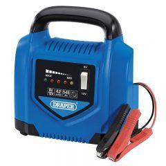 Draper 70544 6V/12V Battery Charger