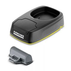 Karcher WV 5 Charging Station and Replaceable Battery