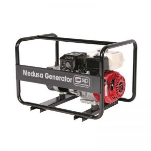 SIP 04464 Medusa MGHP4.5F Generator 4.0KVA Petrol Honda Engine (Discontinued)